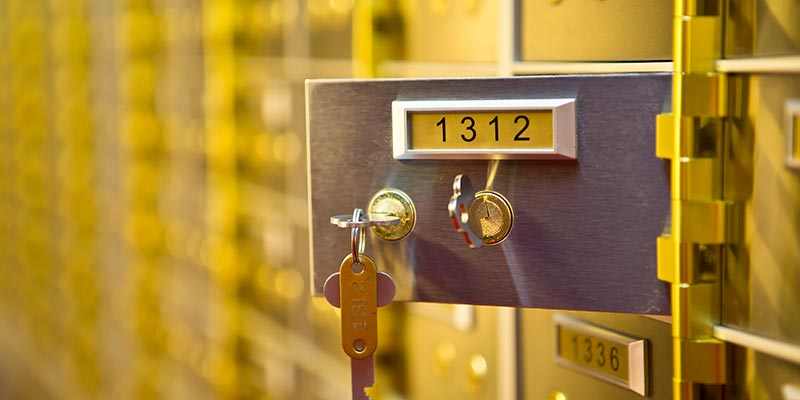 Safety Deposit Boxes Wolverhampton