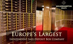 safety deposit boxes Wolverhampton